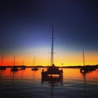 Sunset- Paradise, Bay of Islands