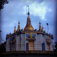 Dhamma Hall or meditation cell