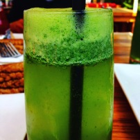 Drink a green juice